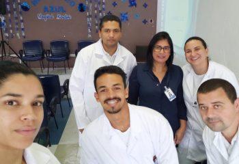 Alunos do Curso Técnico em Enfermagem
